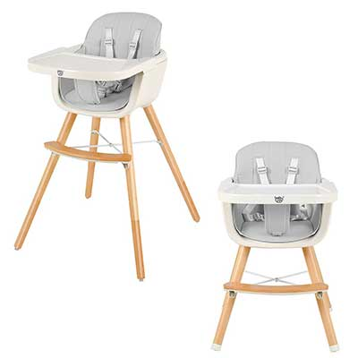 BABY JOY Convertible Baby High Chair