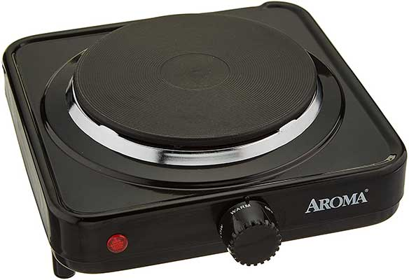 Aroma Housewares AHP-303/CHP-303 Single Hot Plate