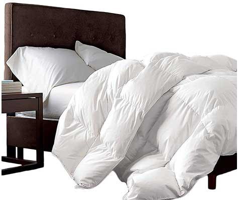 Luxurious Queen Size Siberian Goose Down Comforter