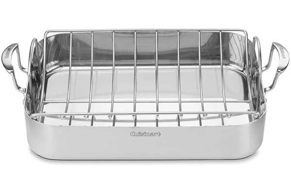Cuisinart MCP117-16BR MultiClad Pro Stainless Steel Roaster