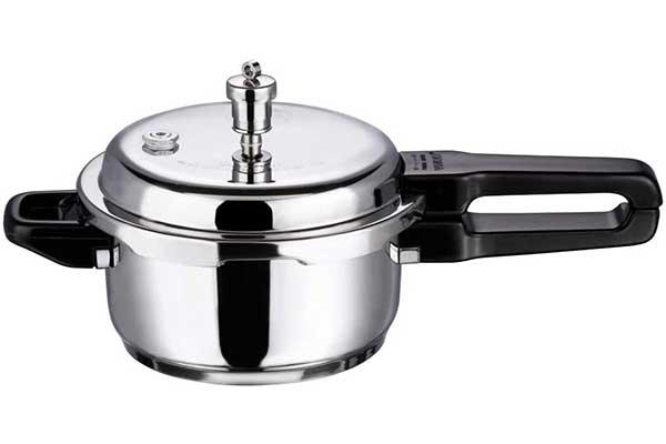 Vinod V-3L Stainless Steel Sandwich Bottom Pressure Cooker