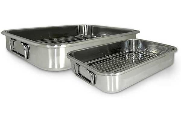 Cook Pro 561 4-Piece All-in-1 Lasagna Roasting Pan