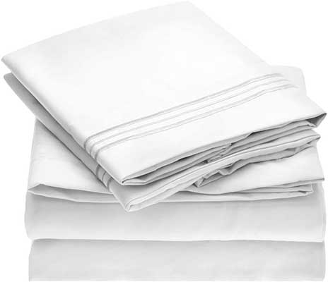 Mellani Bed Sheet Set – Brushed Microfiber 1800 Bedding