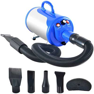 SHELANDY 3.2HP Stepless Adjustable Speed Pet Hair Dryer