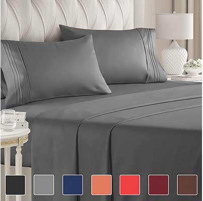 Full-Size Sheet Sets – 4-Piece – Hotel Luxury Bed Sheets