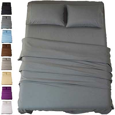 SONORO-KATE Bed Sheet Set Super Soft Microfiber