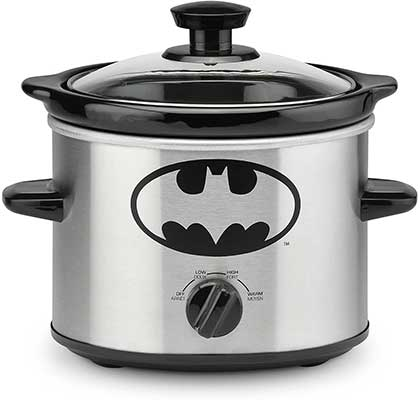 DC Batman 2-Quart Slow Cooker