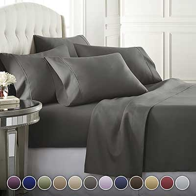 Danjor Linens 6 Piece Hotel Luxury Soft Bed Sheets