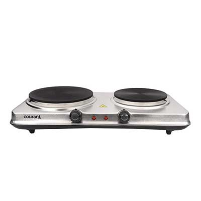 Courant Double-Burner, 1700W Hot Plate