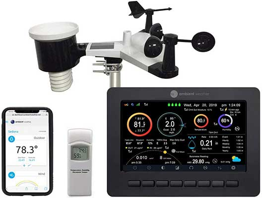 Ambient Weather WS-2000 Smart Weather Station with Wi-Fi