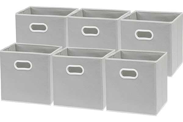 SimpleHouseware Foldable Cube Storage Bin