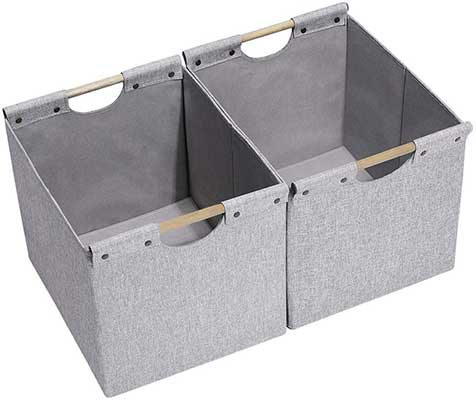 HOONEX Large Foldable Cube Storage Bins