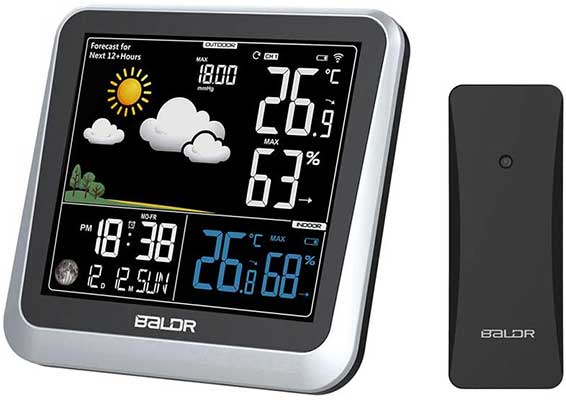 BALDR Color Display Digital Wireless Indoor/Outdoor