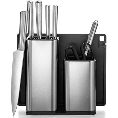 10-Piece Stainless Steel Kitchen Knife Set