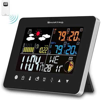 SMARTRO Wireless Indoor Outdoor Thermometer