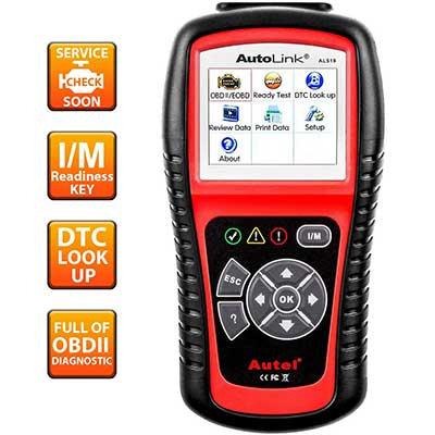 Autel AutoLink OBD2 Scanner Enhanced Mode 6
