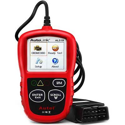 Autel Auto Link AL319 OBD2 Scanner
