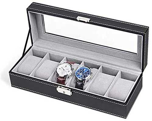 NEX 6 Slot Weather Watch Box Display Case