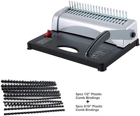 FLK Tech Binding Machine with Starter Combs Set