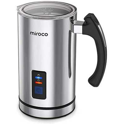 Miroco Milk Frother, Electric Milk Steamer