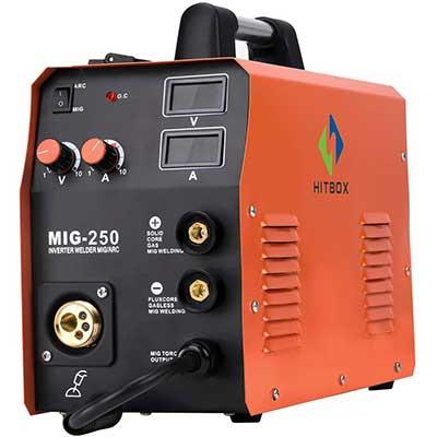 HITBOX New Arrival Mig Welder MIG250 TIG ARC Welding Machine