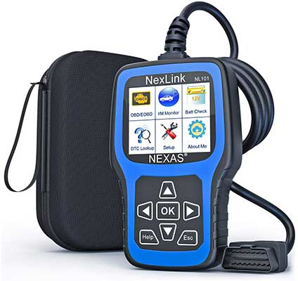 NEXAS NL101 Full OBD2 Scanner – Check Engine Light Car