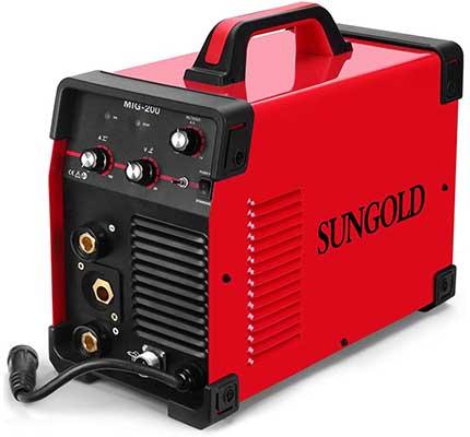 SUNGOLDPOWER MIG WELDER 140A Gas and Gasless Welding