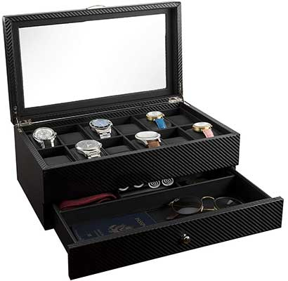 Watch Box – Display Case and Organizer