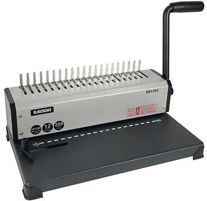 RAYSON SD1202 Binding Machine with Combs Set