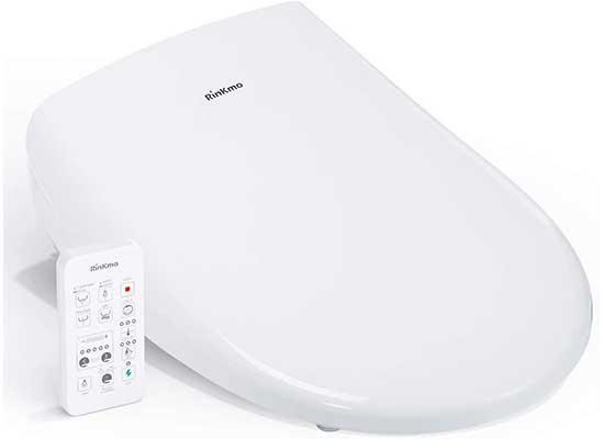 Rinkmo Bidet Toilet Seat, Heated Bidet