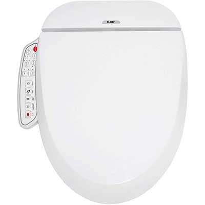 KJOY Electronic Heated  Bidet Smart Toilet Seat