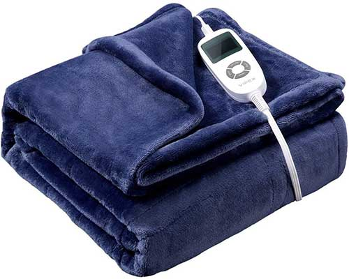 Vipex Heated Blanket Flannel Electric Heated Blanket