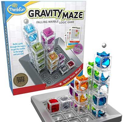 ThinkFun Gravity Maze Marble Run Brain Game & STEM Toy