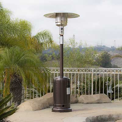 BELLEZE 014-HG-PH00-BRO 48, 000 BTU Premium Outdoor Patio Heater