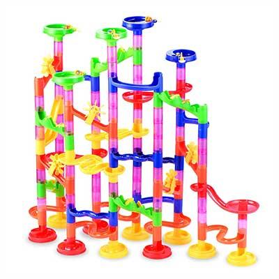 Gifts2U Marble Run Toy, 130 Pcs