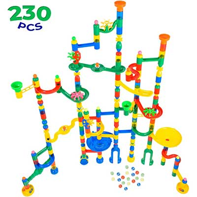 MagicJourney Giant Marble Run Toy Truck