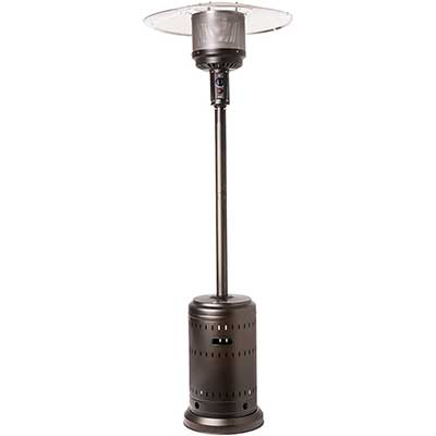 Fire Sensor Espresso Finish Commercial Patio heater