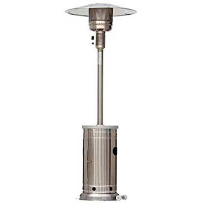 Garden Treasures 48000-BTU Stainless Steel Floor-standing Heater