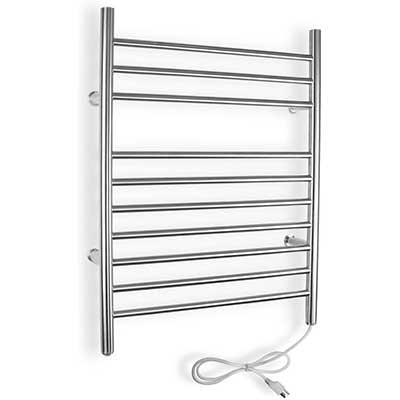 WarmlyYours 10-Bar Infinity Towel Warmer