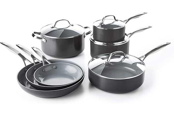 GreenPan Valencia Healthy Ceramic Cookware Set