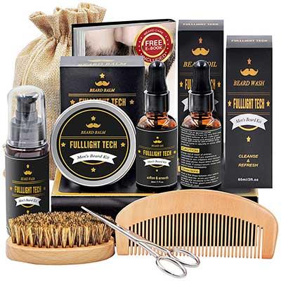 Beard Kit for Men Grooming & Care with Beard Wash/Shampoo