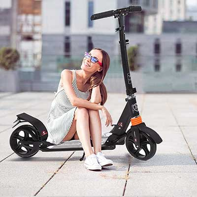 Kids/Adult Scooter with 3 Seconds Easy-Folding System