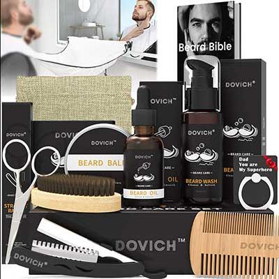 Beard Grooming Care Kit for Men, Dovich