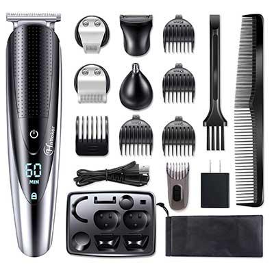 Hatteker Hair Clipper Beard Trimmer Grooming Kit