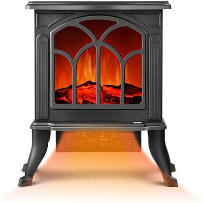 Electric Fireplace Heater – Infrared Space Heater