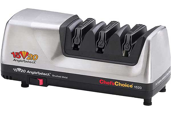Chef's Choice Hone Electric Knife Sharpener for 15 and 20-degree Knives