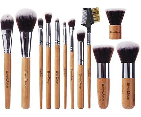 EmaxDesign 12 Pieces Makeup Brush Set Professional