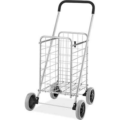 Whitmor Utility Durable Folding Design Shopping Cart