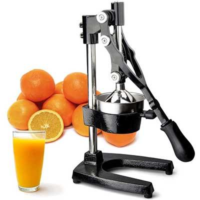 TrueCratftware Commercial Citrus Juicer Hand Press