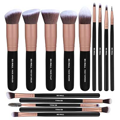 BS-MALL Makeup Brushes Premium Synthetic Makeup Brushes